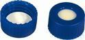 SKB N9-L, bl, Sil bg/PTFE w, 45°, 1,3 N 9 PP Schraubkappe (bonded), blau, Loch Silikon beige/PTFE...