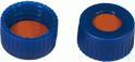 SKB N9-L, bl, RR or/TEF, 65°, 1,0 N 9 PP Schraubkappe (bonded), blau, Loch Red Rubber/TEF farblos...