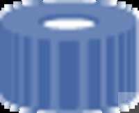 SK N9-L, bl, Sil w/PTFE r, 45°, 1,0 N 9 PP Schraubkappe, blau, Loch Silikon weiß/PTFE rot Härte:...