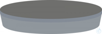 Septa N20 Mld. But/PTFE gr, 50°, 3.0 N 20 septa Moulded Septa Butyl/PTFE gray...