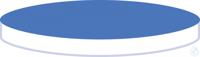 Septa N17 Sil w/PTFE bl, 45°, 1.5 N 17 septa Silicone white/PTFE blue...