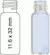 Vial N8-1.5, GW, k, 11,6x32, flach 1,5 mL Gewindeflasche N 8 Außendurchmesser: 11,6 mm,...