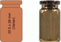 Vial N20-5, RR, b, 20,5x38, fl., DIN 5 mL Headspace Rollrandflasche N 20 Außendurchmesser: 20,5...