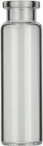 Vial N20-20, RR, k,22,5x75,5,fl DIN(DANI 20 mL Headspace Rollrandflasche N 20 Außendurchmesser:...