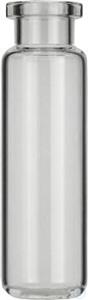 Vial N20-20, RR, k,22,5x75,5, r, DIN(CTC 20 mL Headspace Rollrandflasche N 20 Außendurchmesser:...