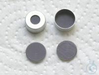 CC N11-H,si, PTFEgr/Bu bg/PTFEgr, 55° 1. N 11 Aluminium crimp cap, silver,...