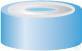 BM N20-H, si/bl, Sil bltr/PTFE, 45°, 3.0 N 20 bimetal crimp cap, blue/silver,...