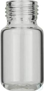 Vial N18-10, GW, k, 22,5x46, gerundet 10 mL Headspace Gewindeflasche N 18 Außendurchmesser: 22,5...