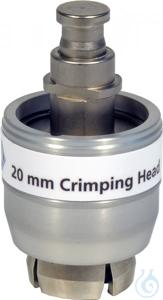CRH N20 (f. electr. cr. tool 735700) Crimping head for 20 mm Crimp Caps (for...