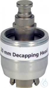 DCH N20 (f. electr. cr. tool 735700) Decapping head for 20 mm Crimp Caps (for...