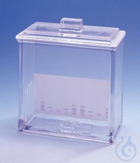 TLC Development tank TLC developing chamber for use with 5 simultaneous...