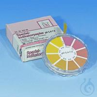 Spec. ind. pH 5.4-7.0, reel Special indicator paper pH 5.4-7.0 test paper measuring range: pH 7.0...