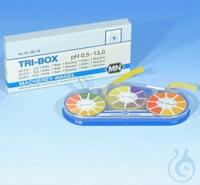 TRI-BOX pH 0.5 - 13.0, box TRI-BOX pH 0.5 - 13.0 Containing of one reel each...