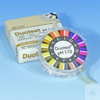 DUOTEST pH 1 - 12 DUOTEST pH 1 - 12 reel of 5 m length, width: 10 mm