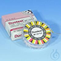 DUOTEST pH 1,0 - 4,3