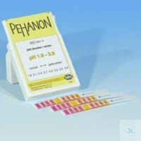 PEHANON pH 1,8 - 3,8 PEHANON pH 1,8 - 3,8 box of 200 strips 11 x 100 mm