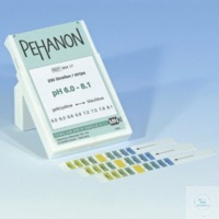 PEHANON pH 6,0 - 8,1 PEHANON pH 6,0 - 8,1 box of 200 strips 11 x 100 mm