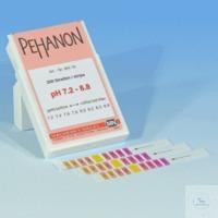 PEHANON pH 7,2-8,8, bte de 200 lang. PEHANON pH 7,2 - 8,8 boîte de 200 languettes 11 x 100 mm...
