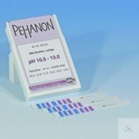 PEHANON pH 10,5-13,0, bte de 200 lang. PEHANON pH 10,5 - 13,0 boîte de 200 languettes 11 x 100 mm...