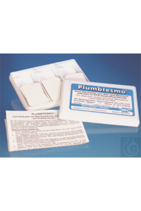 Plumbtesmo Plumbtesmo sheets 40 x 25 mm sufficient for 40 determinations