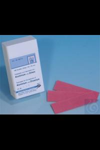 Aluminium and Zirconium test paper Aluminium and Zirconium test paper test...