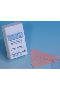 Antimony test paper Antimony test paper test strips 20 x 70 mm sufficient for...