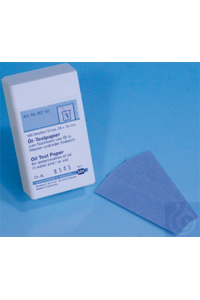 Oil test paper Oil test paper test strips 20 x 70 mm sufficient for 100 determinations