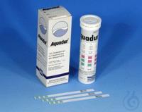 AQUADUR 4-14/100 pcs AQUADUR test sticks gradation: 4 >8.4 >14 °d = 72 >151...