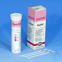 QUANTOFIX Kupfer QUANTOFIX Kupfer Teststäbchen 6 x 95 mm Messbereich: 0-10-30-100-300 mg/L Cu+/2+...