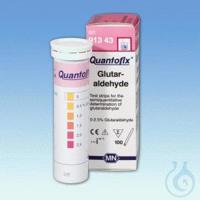 QUANTOFIX Glutaraldehyde QUANTOFIX Glutaraldehyde test strips 6 x 95 mm...