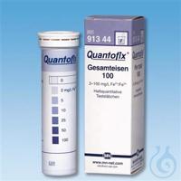 QUANTOFIX Total iron 100 QUANTOFIX Total iron 100 test strips 6 x 95 mm...
