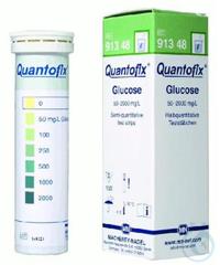 QUANTOFIX Glucose QUANTOFIX Glucose test strips 6 x 95 mm measuring range:...
