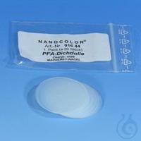 NANO PFA sealing discs (pack 20) NANOCOLOR PFA sealing discs pack of 20