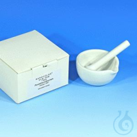 NANO mortar with pestle NANOCOLOR Porcelain mortar 90 mm diameter with pestle