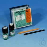 NANO AOX expansion kit NANOCOLOR AOX expansion kit for sensitive AOX range...
