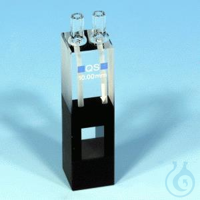 NANO UV/VIS flow cell, quartz glass,10mm NANOCOLOR flow cell, quartz glass optical path: 10 mm...