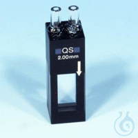 NANO flow cell, quartz glass, 2 mm NANOCOLOR flow cell, quartz glass optical...