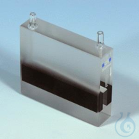 NANO UV/VIS flow cell, quartz glass,50mm NANOCOLOR flow cell, quartz glass optical path: 50 mm...