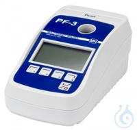 Photometer PF-3 Pool, Box Photometer PF-3 Pool for evaluation of VISOCOLOR...