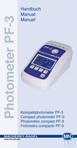 Photometer PF-3 manual Compact Photometer PF-3 Manual