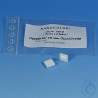 NANO Lid for 10 mm glass cells / 2 NANOCOLOR Lid for 10 mm glass cells pack of 2