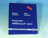 NANO Photomètre 500 D, Manuel NANOCOLOR 500 D manuel allemand/anglais