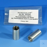 Nano reducer 22-16 mm/2 Reducer für NANOCOLOR heating blocks 22-16 mm pack of 2