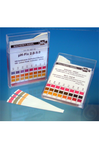 pH-Fix 0-14, pqt 100 lang. 6x85 mm Languettes indicatrices pH-Fix pH 0 - 14 paquets de 100...