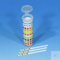 pH-Fix 0-14, pqt 100 , boîte arrondie Languettes indicatrices pH-Fix pH 0 - 14 boîte ronde avec...