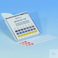 pH-Fix 0,0-6,0, pqt 100 lang. 6x85 mm Languettes indicatrices pH-Fix pH 0,0 - 6,0 paquets de 100...
