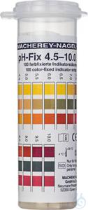 pH-Fix 4.5-10.0 PT pH-Fix 4.5-10.0 PT indicator sticks in round plastic tube...