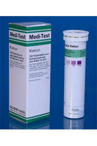 MEDI-TEST Keton/100 MEDI-TEST Ketones pack of 100 strips