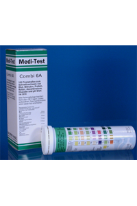 MEDI-TEST Combi 6 A/100 MEDI-TEST Combi 6 A pack of 100 strips