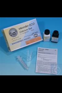 VISO ECO Calcium VISOCOLOR ECO Calcium titration test kit measuring range: 1...